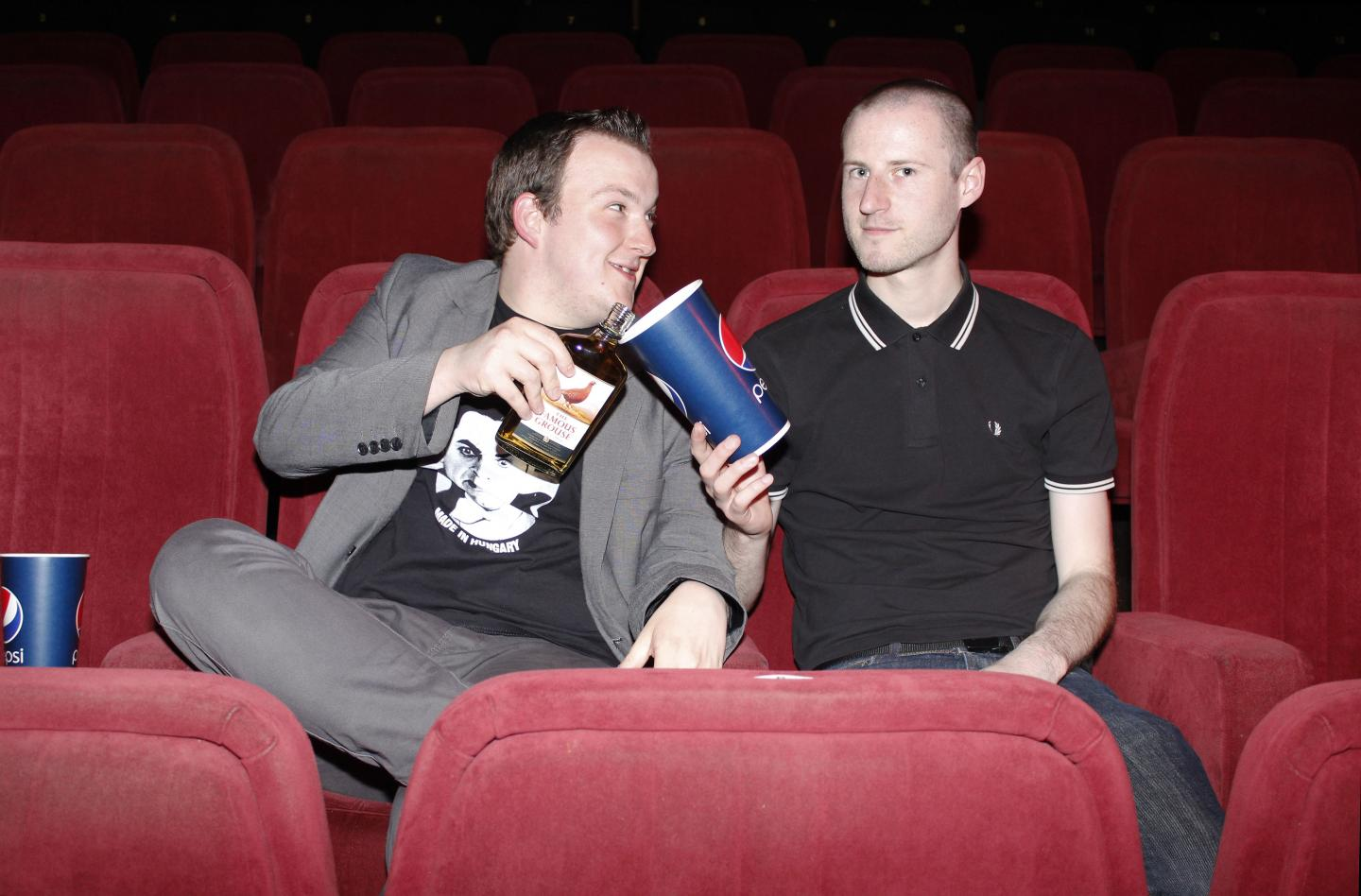 2 Guys Wot Work In A Cinema